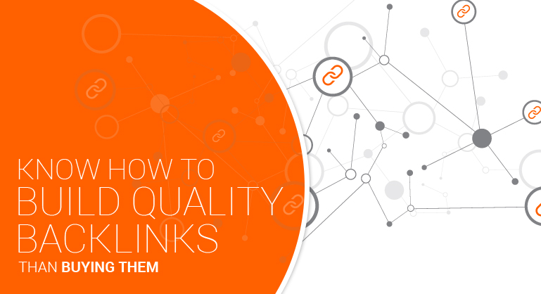 Build Quality Backlinks than Buying