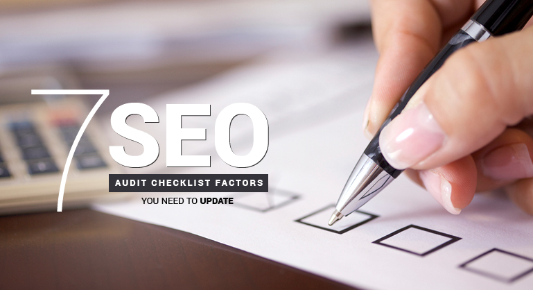 SEO Audit Checklist Factors