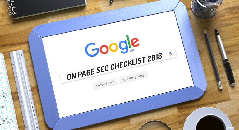 Short Tour on On-Page SEO Checklist 2018