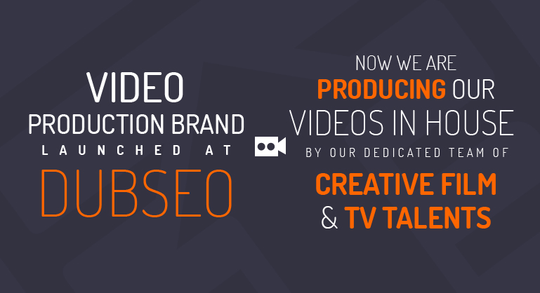DubSEO Launched  In-House Video Production Division - Press Release