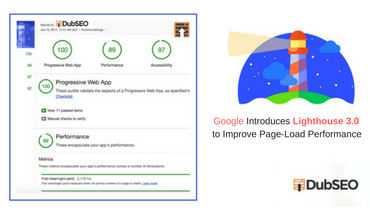 DubSEO, Using Lighthouse To Improve Page Load Performance