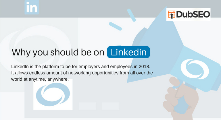 reasons why you should be on LinkedIn as a professional